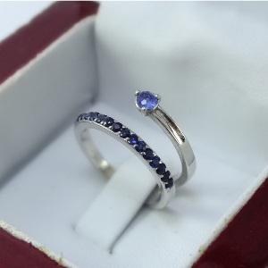 انگشتر جواهر مدل محبوب