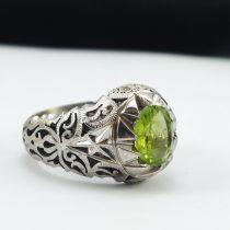 انگشتر جواهری زبرجد