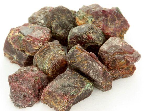 سنگ های راف یاقوت قرمز