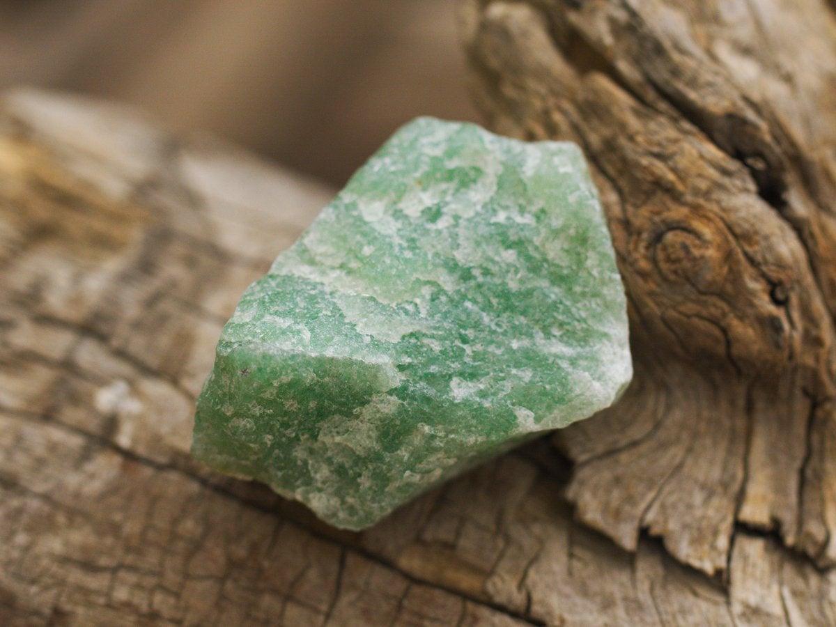 سنگ راف آونتورین سبز
