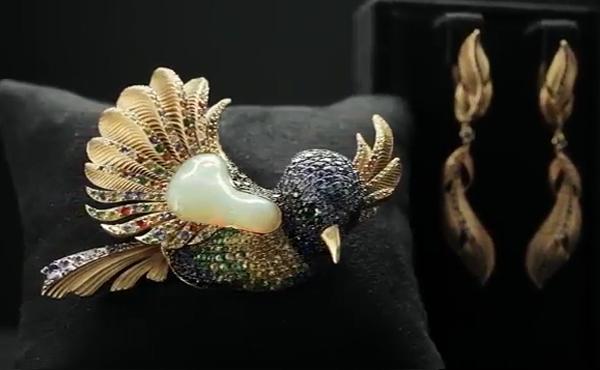 ساخت جواهر با سنگ اوپال